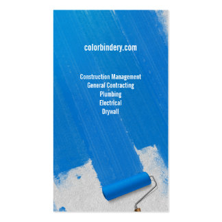 Paint and Papered Painters Business Card