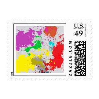 Paint Ball Champion Stamp