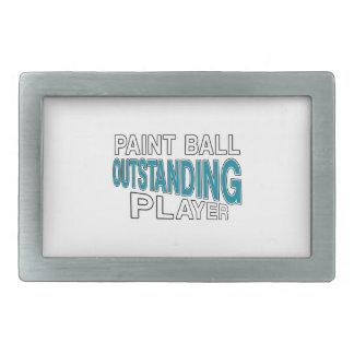 PAINT BALL OUTSTANDING PLAYER BELT BUCKLE