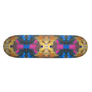 paint blob skateboard