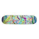 paint blobs skate deck 3