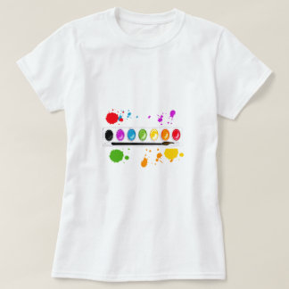 paint box with splatters T-Shirt