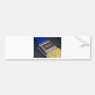 Paint brush bumper sticker
