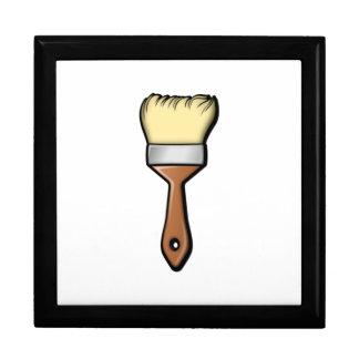 Paint Brush Keepsake Box