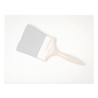 Paint brush customized letterhead