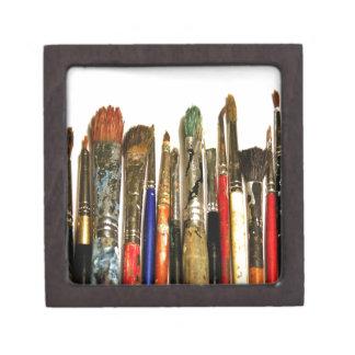 Paint Brush Premium Trinket Box