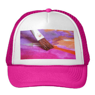 Paint brush-products. trucker hat