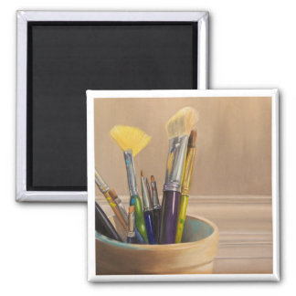 Paint Brushes Magnet