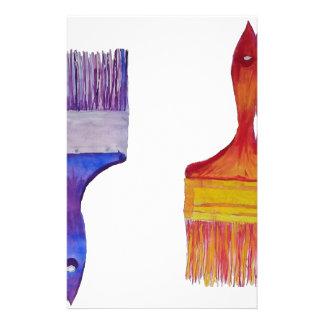 paint brushes stationery