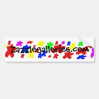 paint Bumper sticker -
