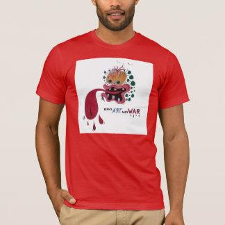 """Paint By Milt: """"Make Art Not War"""" T-Shirt"""