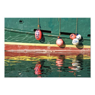 Paint By Numbers In Watercolors. Photo Print