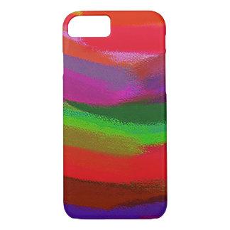 Paint Color Splatter Brush Stroke #11 iPhone 8/7 Case