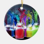 paint dancers christmas ornaments