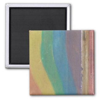 Paint Designs 2 Inch Square Magnet