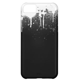 Paint Drip Case Cover For iPhone 5C