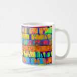 Paint Drips Classic White Coffee Mug