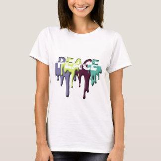 paint drop PEACE T-Shirt