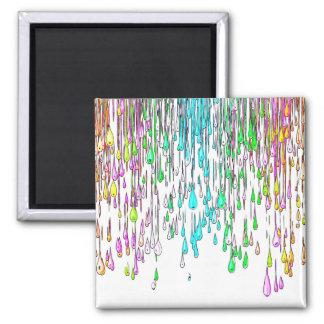 Paint Drops Magnet