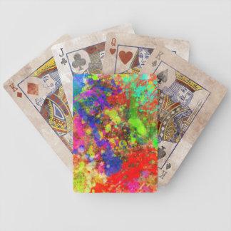 Paint especie Cards Baraja Cartas De Poker