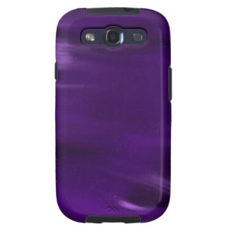 paint explosion in purple. samsung galaxy s3 case