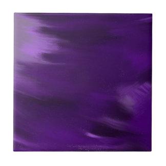 paint explosion in purple. tile