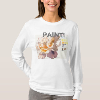 Paint! Flower Watercolor Tee Shirt