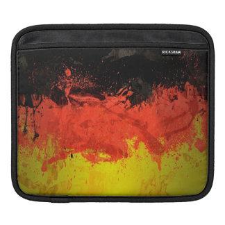 Paint Germany Flag iPad Sleeve