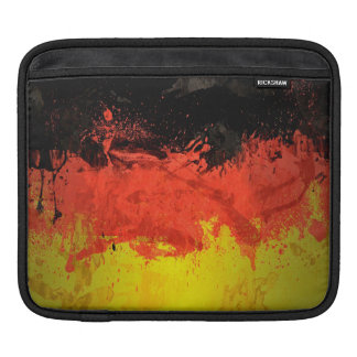 Paint Germany Flag Sleeves For iPads