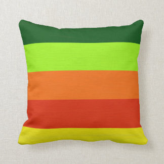 Yellow Green Decorative Pillows : Lime Green And Yellow Stripes Pillows - Decorative & Throw Pillows Zazzle