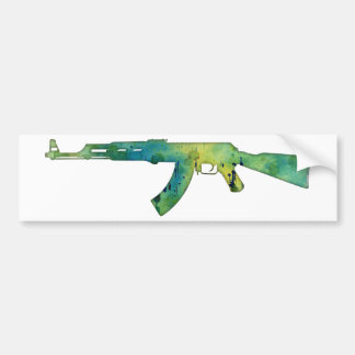 Paint Gun Bumper Sticker