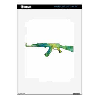 Paint Gun iPad 3 Decal