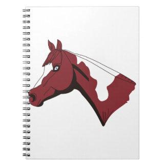 Paint Head Spiral Notebook