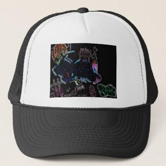 Paint Helmet Trucker Hat