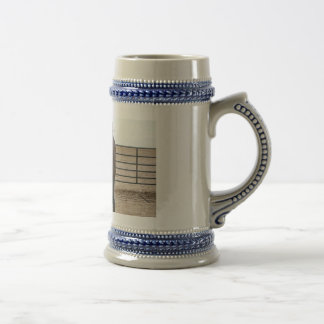 Paint Horse and Cowboy 18 Oz Beer Stein
