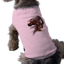 Paint Horse and Feathers Pet Clothing