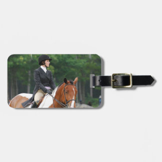 Paint Horse at Show Luggage Tag