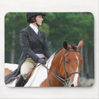 Paint Horse at Show Mouse Pad