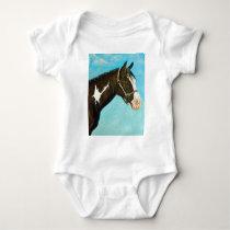 Paint Horse Baby Bodysuit