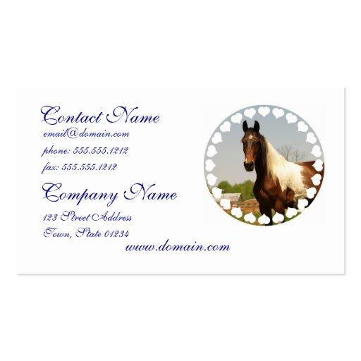 Paint Horse Business Cards