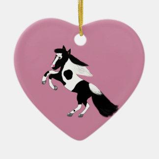Paint Horse Ceramic Ornament
