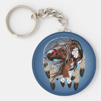 Paint Horse Dreamcatcher Keychain