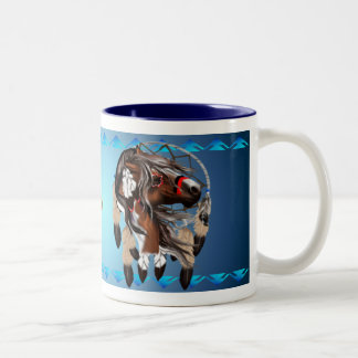 Paint Horse Dreamcatcher Mug