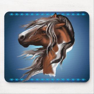 Paint Horse Face Mousepad