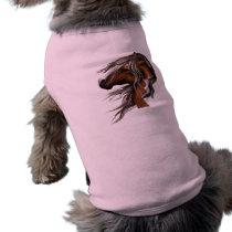 Paint Horse Face Pet Clothing