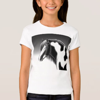 Paint Horse Girls Baby Doll Tee