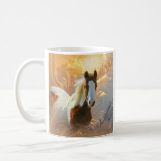 Paint Horse Gold Mugs