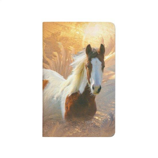 Paint Horse Gold Pocket Journals