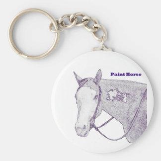 Paint Horse Key chain
