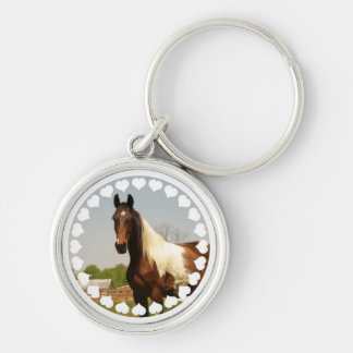 Paint Horse Keychain